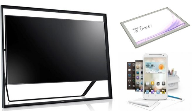 We round up CES 2013 with three more product highlights - Panasonic's 20-inch 4K tablet, Samsung's 85-inch HDTV, as well as Huawei's 6.1-inch smartphone-tablet hybrid.