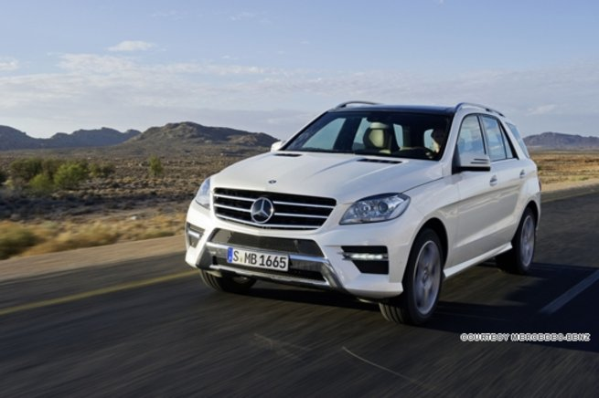 The new Mercedes M-Class is not only fuel efficient but also boasts exceptional safety and excellent driving dynamics both on and off the road.