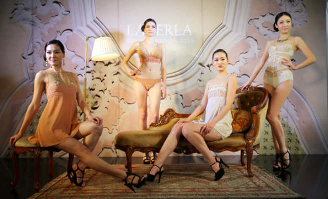 RESIZED La Perla Spring Summer 2013-Donna Agata Collection