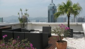 Live the high life from one of these stunning rooftop apartments in Hong Kong.