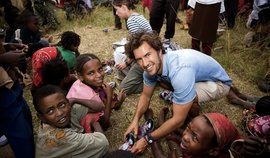 Blake Mycoskie founded TOMS in 2006 after befriending children in an Argentinian village and now supplies footwear to children in developing countries around the world.