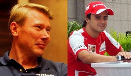 We caught up with Mika Hakkinen and Felipe Massa during their appearances for Gillette and Shell respectively while in Singapore for the F1 Grand Prix 2013.