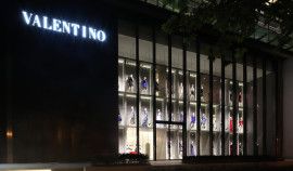 Valentino Flagship Boutique in Shanghai