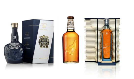 3 exclusive whiskies