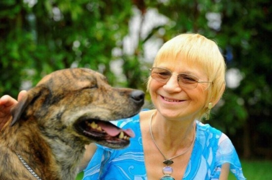 Rosina encourages potential owners to rescue dogs and not support the numerous puppy mills around the world.
