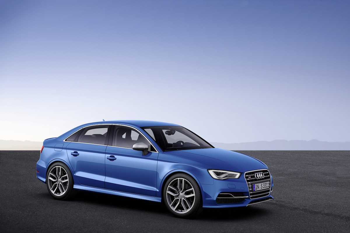 Audi s3 Sedan Blue Audi s3 Sedan