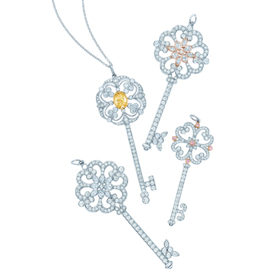 The perfect gift a tiffany co key lifestyleasia singapore tiffany enchant collection mozeypictures Image collections