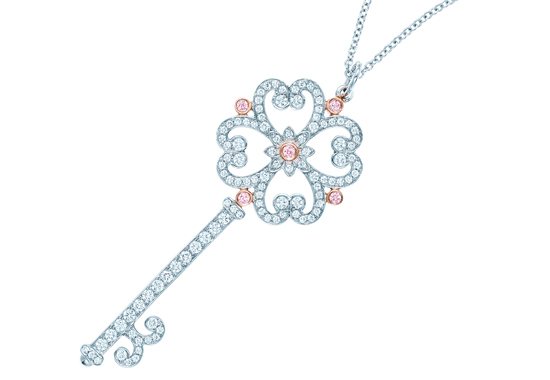The perfect gift a tiffany co key lifestyle asia singapore tiffany enchant quatra heart key pendant aloadofball Gallery
